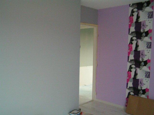Cathy et ren construction 2010 le 25 02 2011 bis for Peinture gris mauve